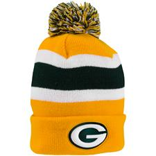Bridgestone Green Bay Packers NFL Cuff Knit Beanie