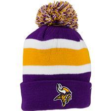 Bridgestone Men's NFL Cuff Knit Beanie - Minnesota Vikings
