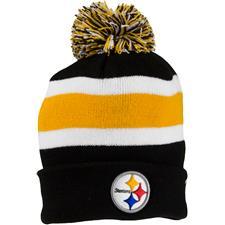 Bridgestone Men's NFL Cuff Knit Beanie - Pittsburgh Steelers