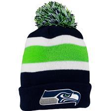 Bridgestone Men's NFL Cuff Knit Beanie - Seattle Seahawks
