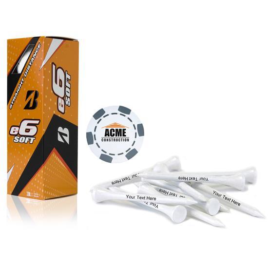 Bridgestone Sleeve, Chip Marker and Tee Kit