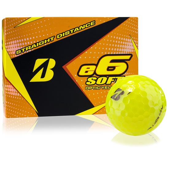 Bridgestone e6 Soft Yellow Golf Balls