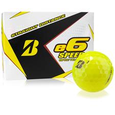 Bridgestone e6 Speed Yellow Personalized Golf Balls