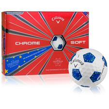 Callaway Golf Chrome Soft European Truvis Golf Balls