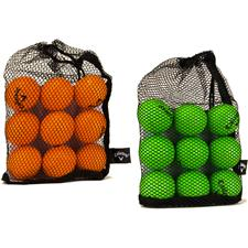 Callaway Golf HX Practice Golf Balls - 9 Pack with Mesh Bag