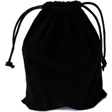 Classic Suede Pouch - Black