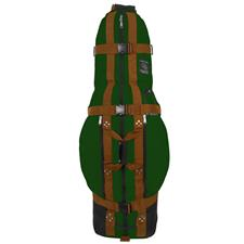 Club Glove Last Bag Large Pro Travel Cover - Green-Copper