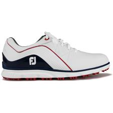 info for 433a2 6749d FootJoy White-Navy ProSL Golf Shoes - 2019 Model