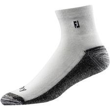 FootJoy Men's ProDry Quarter Socks - White