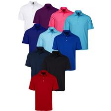 Greg Norman Custom Logo ML75 Micro Lux Solid Polo