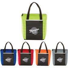 Logo Quilted 12-Can Lunch Cooler