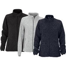 Logo Custom Logo Summit Sweater-Fleece Jacket for Women