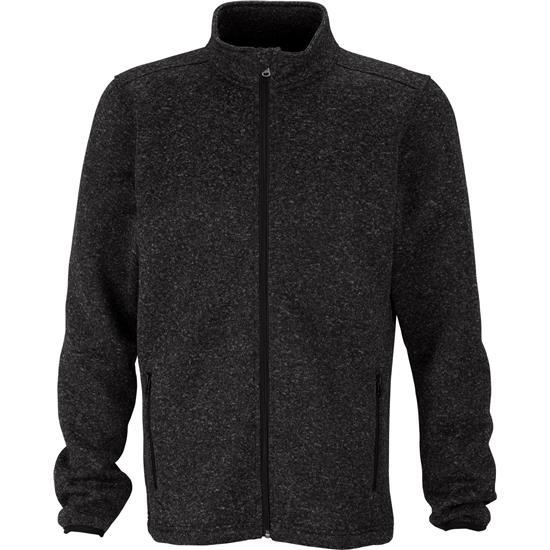 Logo Men's Summit Sweater-Fleece Jacket