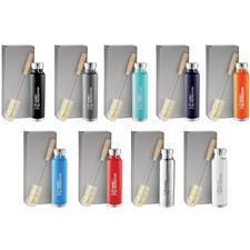 Logo Custom Logo Thor Copper 22oz Vacuum Bottle with Brush