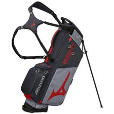 Mizuno BR-D3 Stand Bag - Grey-Red