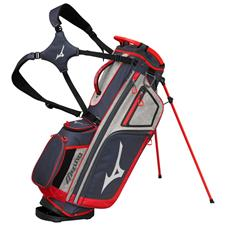 Mizuno BR-D4 Personalized Stand Bag - Grey-Red