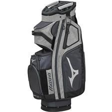 Mizuno BR-D4C Personalized Cart Bag - Grey-Black