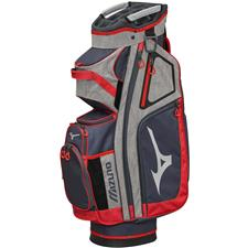 Mizuno BR-D4C Personalized Cart Bag - Grey-Red