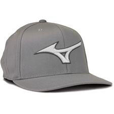 Mizuno Men's Diamond Snapback Personalized Hat - Grey-Red