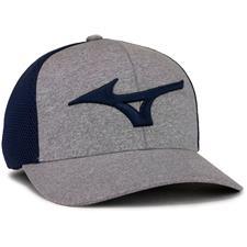 Mizuno Men's Fitted Meshback Hat - Navy
