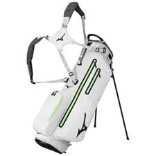 Mizuno K1-LO Stand Bag - Light Grey-Neon Green