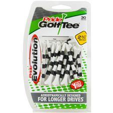 Pride Sports Evolution Striped Plastic Golf Tees - 2-3/4 Inch