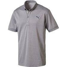 Puma Men's Oxford Heather Polo