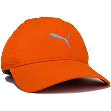 Puma Men's Pounce Adjustable Personalized Hat - Vibrant Orange-Quarry