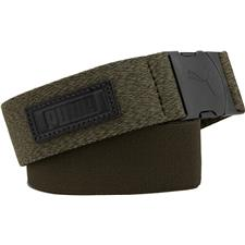 Puma Ultralite Stretch Belt - Forest Night Heather - One Size Fits Most