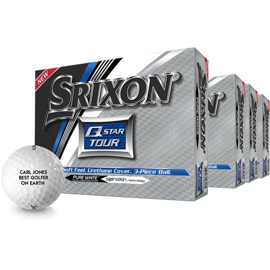 Srixon Q-Star Tour 2 Golf Balls - Buy 3 DZ Get 1 DZ Free