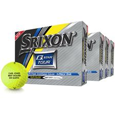 Srixon Q-Star Tour 2 Yellow Golf Balls - Buy 3 Get 1 Free