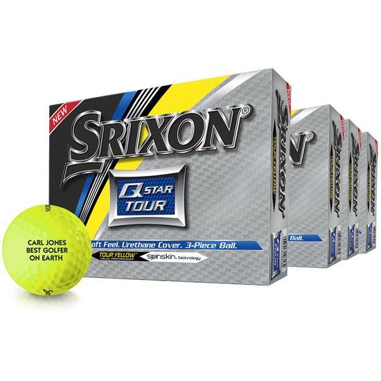 Srixon Q-Star Tour 2 Yellow Golf Balls - Buy 3 Get 1 Free