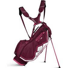 Sun Mountain 4.5 LS Stand Bag for Women - Berry-Pink-White