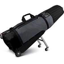 Sun Mountain Black Series ClubGlider Meridian Travel Bag - Black-Gunmetal