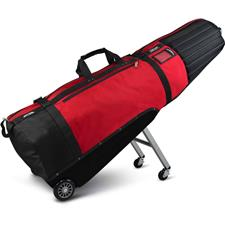 Sun Mountain Black Series ClubGlider Meridian Travel Bag - Black-Red