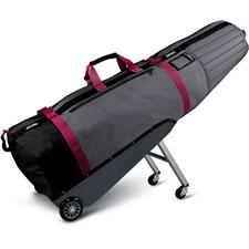 Sun Mountain Black Series ClubGlider Meridian Travel Bag - Storm-Pink