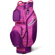 Sun Mountain Diva Cart Bag for Women - Plum-Tulip Flurry