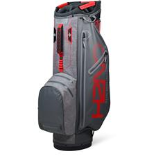 Sun Mountain H2NO Superlite Cart Bag - Gunmetal-Space Gray-Red