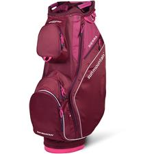 Sun Mountain Sierra Cart Bag for Women - Merlot-Berry