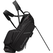 Taylor Made Flextech Crossover Personalized Stand Bag - Black