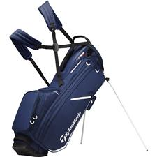 Taylor Made Flextech Crossover Personalized Stand Bag - Navy-White