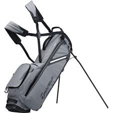 Taylor Made Flextech Lite Personalized Stand Bag - Charcoal-Black
