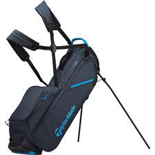 Taylor Made Flextech Lite Personalized Stand Bag - Titanium-Bright Blue