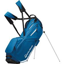 Taylor Made Flextech Personalized Stand Bag - Blue-White