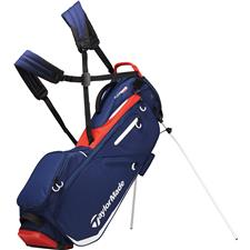 Taylor Made Flextech Personalized Stand Bag - Navy-Red-White