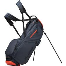 Taylor Made Flextech Personalized Stand Bag - Titanium-Blood Orange