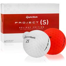 Taylor Made Project (s) Holidayism Golf Balls - 6-Ball Pack