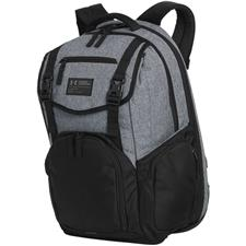 Under Armour Corporate Coalition Backpack - Graphite Heather-Black-Black