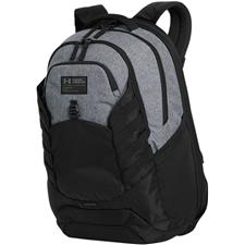 Under Armour Corporate Hudson Backpack - Graphite Heather-Black-Black