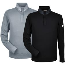 Under Armour Custom Logo Corporate Sweater Fleece Snap-Up Pullover